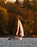 A mixture of signs of fall around Pelican Lake with plenty of activities to keep things interesting!!